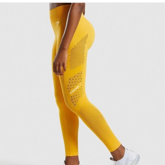 8282f3b101ca57 Gymshark Pants | Flawless Knit Tights | Poshmark